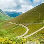 rutas en 4x4 por picos de europa, bajando Fuente De