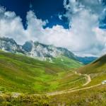 Vistas de los Picos de Europa: ruta en todoterreno