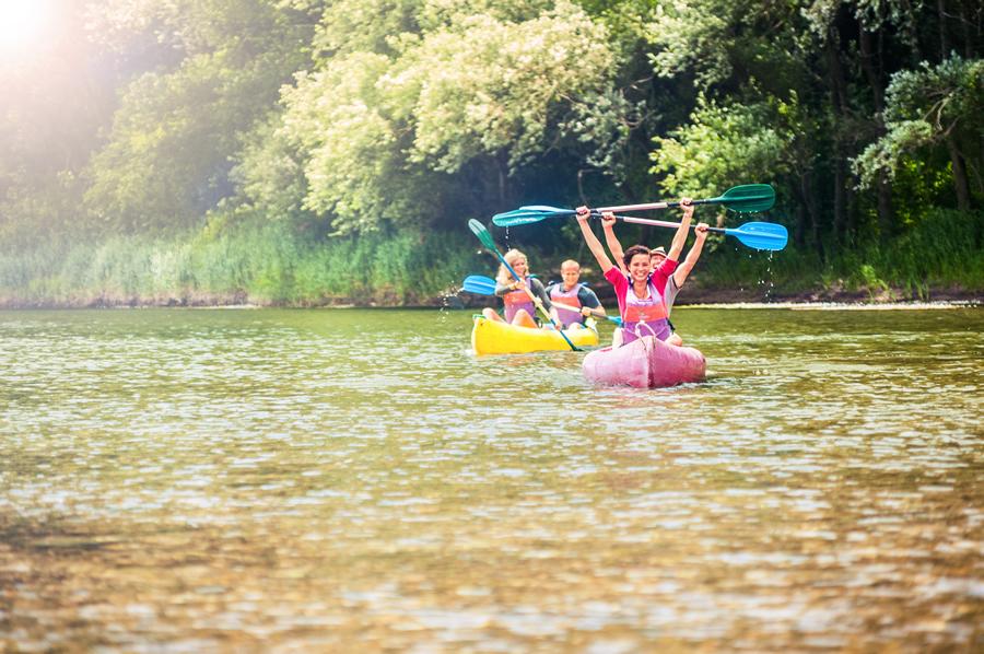 Descenso del Sella en canoa para grupos