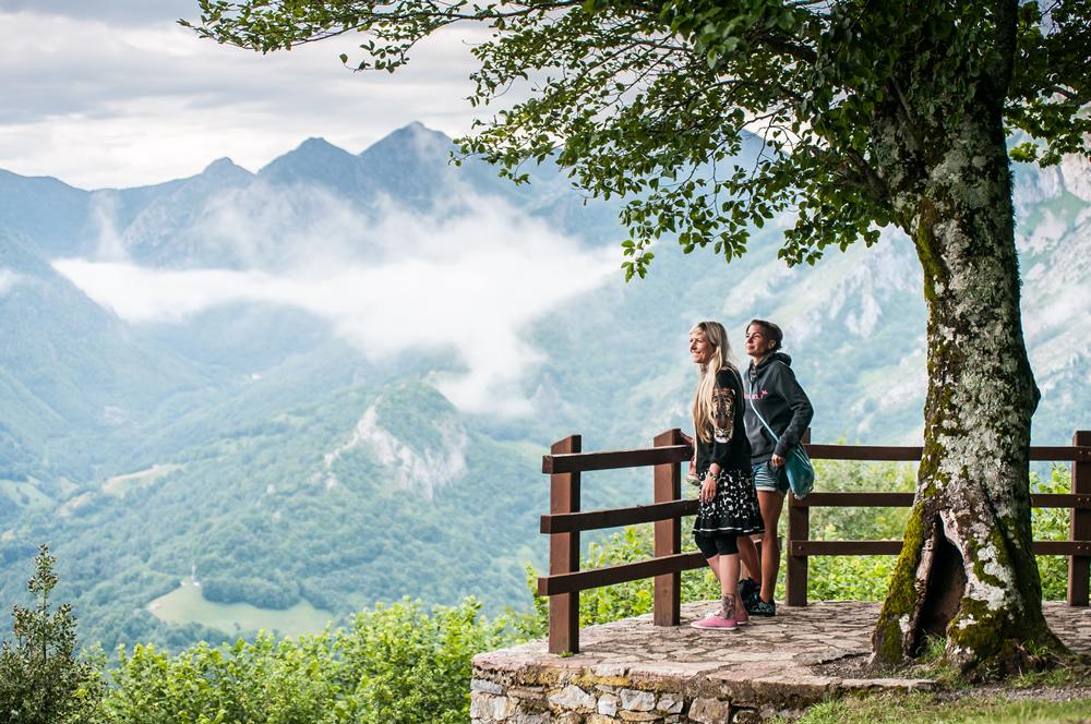 Vistas del Valle de Sajambre, Picos de Europa - rutas 4x4