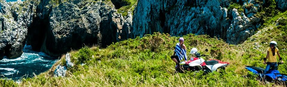 rutas en quad por los acantilados Ribadesella turaventura